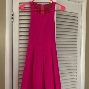 Lulu's bright pink mini dress